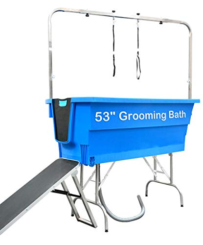 SHELANDY 53 inches pet Bath tub | Multipurpose for Dog Grooming and Bathing