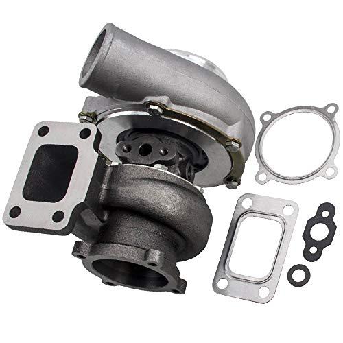 maXpeedingrods GT3582 Turbina Turbocompressore Universale per tutti i motori 4/6 cyl 3.0-6.0L 600BHP AR .63 A/R 0.7