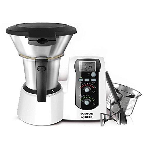 Robot de Cocina Taurus 923001 MyCook 2 L 1600W Blanco: Amazon.es ...