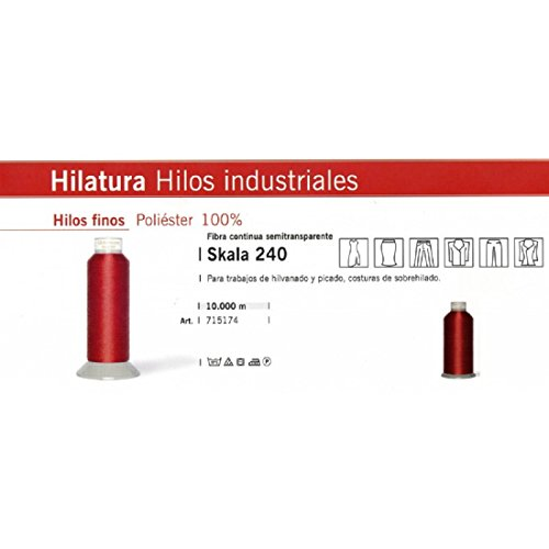GUTERMANN/CONO HILO DE REMALLAR DE 10.000 METROS (BLANCO, 10000 METROS)