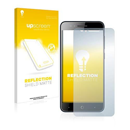 upscreen Entspiegelungs-Schutzfolie kompatibel mit ZTE Blade A612 – Anti-Reflex Bildschirmschutz-Folie Matt