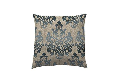 Martina Home Damas Housse de Coussin décorative Design Moderne, Tissu, Gris, 40 x 2 x 40 cm