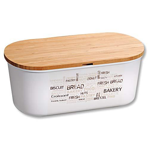 Kesper 58500 Brotbox, Melamin, Bambus