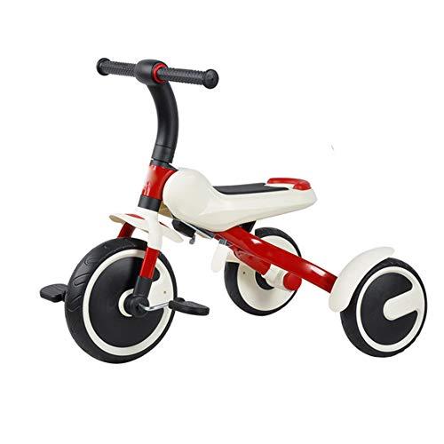 LGLE Bicicleta sin Pedales para NiñOs Bicicleta de Tres Ruedas Scooter para NiñOs Bicicletas Carrera Andador
