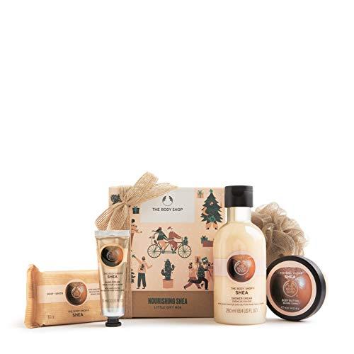 The Body Shop Nourishing Shea- 5pc Small Gift Set, Made With Community Trade Shea Butter