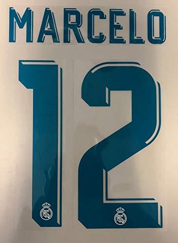 flock Original Real Madrid Trikot 25cm - Marcelo 12