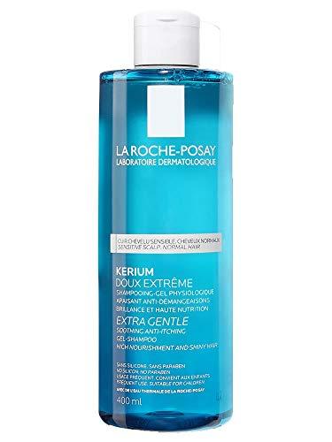 La Roche Posay Kerium - Dolcezza estrema Shampoo gel fisiologico, 400 ml