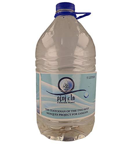 Zam Zam Wasser, Makkah Al Mukarramah, Zemzem Suyu, Zamzam, Quellwasser, Brunnen, Quelle ,Water (5 KG)