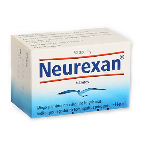 Neurexan Heel N50 – Schlafhilfe, Stresslöser für tieferen, erholsamen Schlaf