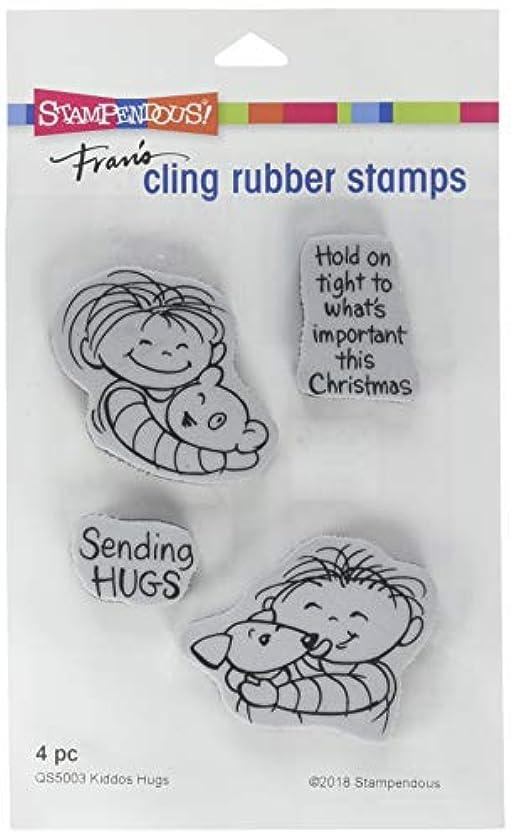 Stampendous Kiddos Hugs Stamp Set