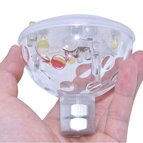 TopHomer Flotante luz subacuática impermeable discoteca luces de baño con 5 modos de iluminación para fuente piscina barras bañera fiesta