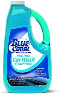 Blue Coral WC107G High Foam Car Wash Concentrate, 64 oz.