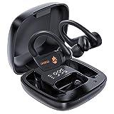 Canmixs Cuffie Bluetooth Senza Fili Auricolari Bluetooth 5.0 Sport Cuffie Wireless Stereo Tws Riduzione Rumore Touch Control in Ear Auricolare Bluetooth Con Microfono per iOS Android Smartphone PC