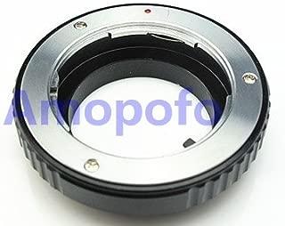 Nikon 1 V1 V2 J1 J2 J5 V3 AW1 100/% Metall Adapter Infinity-Punkt Adaptout Adaptout Adapterring f/ür Objektiv Minolta MD auf Geh/äuse Nikon 1 One