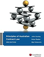 Principles of Australian Contract Law, 3rd Edition