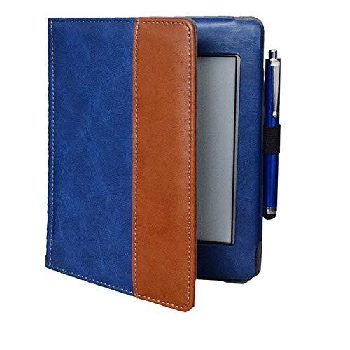 FDPEISHI Funda para Kindle Paperwhite, para Kindle Touch (Modelo Antiguo 2012) D01200 Flip Funda De Portada De Libro - Bonita Bolsa De Caso para La Cubierta del Modelo Kindle Kindle Touch 2011, Azul