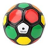 Balón de Fútbol Niño al Aire Libre Juego de Entrenamiento Fútbol No.2 Bola Kid Deporte Deporte Fútbol 13cm / 5.1 Pulgadas para Backyard Street (Color : Multicolor, Size : One Size)