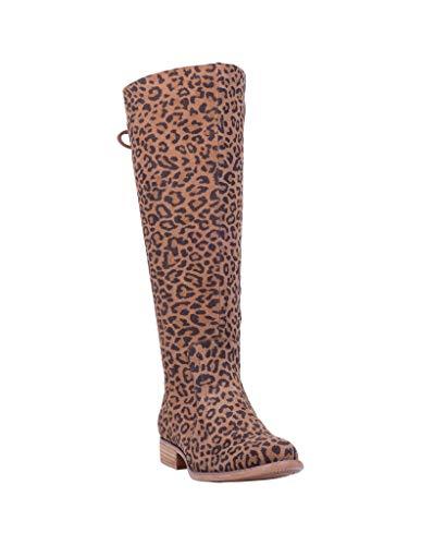 Dingo Alameda Leopard Suede 8 B (M)