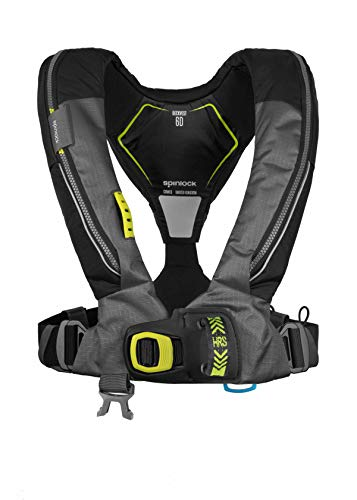 Read About Spinlock Deckvest Lifejacket Harness 6D 170N - Gun Metal/Black with HRS (Quick Release)