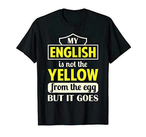 T-Shirt Denglisch - Englisch lustiges Geschenk Witz Spruch T-Shirt