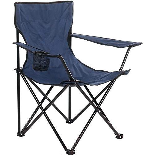 Arcoiris Silla de Camping, Silla de Acampada Plegable con 2 Unidades (Azul 2pack)