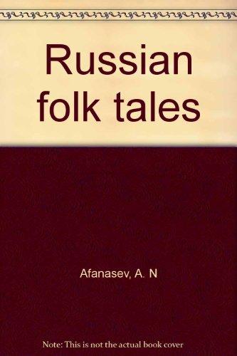 Russian folk tales 0877731950 Book Cover