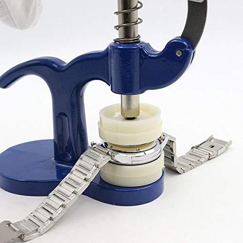 ZYZED Tool Druk op Dichter Remover Horloge Terug Dichter Horloge Opener Terug Case Druk Machine Reparatie Tool Blauw