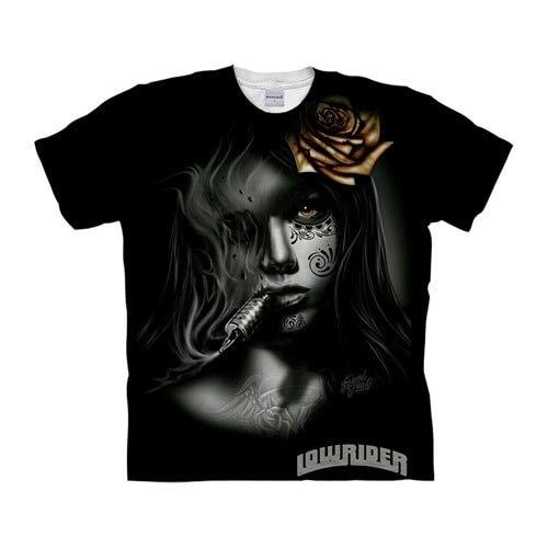 T Shirt Skull Tshirts 3D T Shirt Men T-Shirt Streatwear Tee Top Short Sleeve Hip Hop Asianxl Tx1045