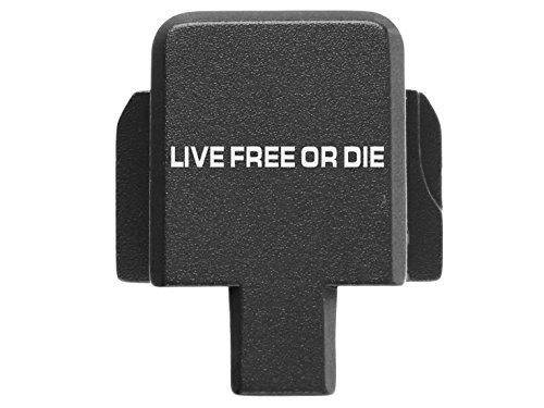 Sale!! for Sig P320 Back Plate 9MM .357 .40 .45 Black Live Free or Die 1 Line Text