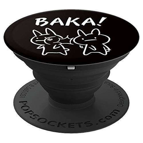 Funny Anime Baka Rabbit Slap Baka Japanese Anime Lover PopSockets Grip and Stand for Phones and Tablets