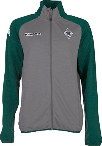 Kappa Herren BMG Training Sweatjacket Sweatjacke, 485 Anthra, L