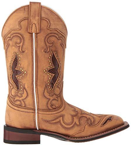 Laredo womens Spellbound 5661 Western Boot, Tan, 12 US