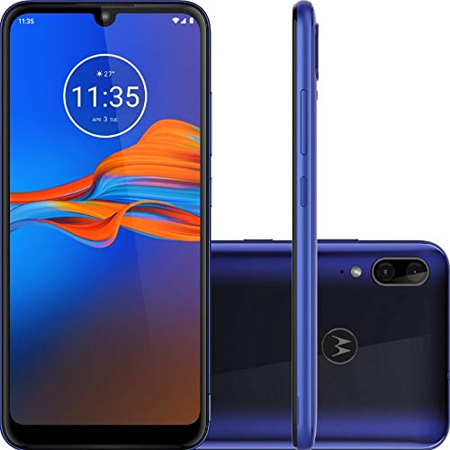 Motorola Moto E6 Plus - Smartphone 64GB, 4GB RAM, Dual SIM, Blue