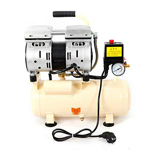 Compressore silenzioso, 550 W, 8 l, compressore ad aria, senza olio