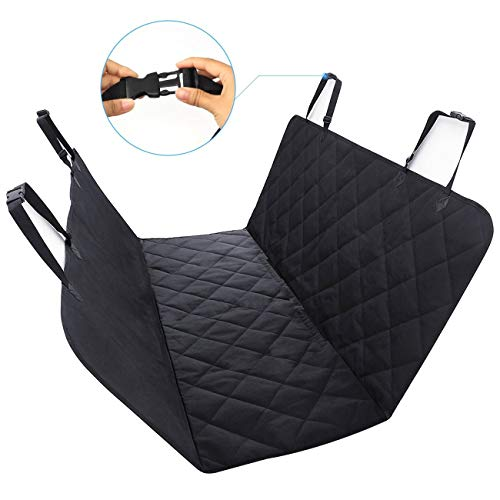 WINSEE Pet Seat Cover Dog Seat Covers Hammock 54' W x 58' L Car seat Cover Trucks SUV Durable Soft Waterproof & Nonslip
