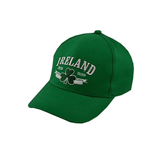 Baseball Cap For Kids With Ireland Limited Edition, Green Colour