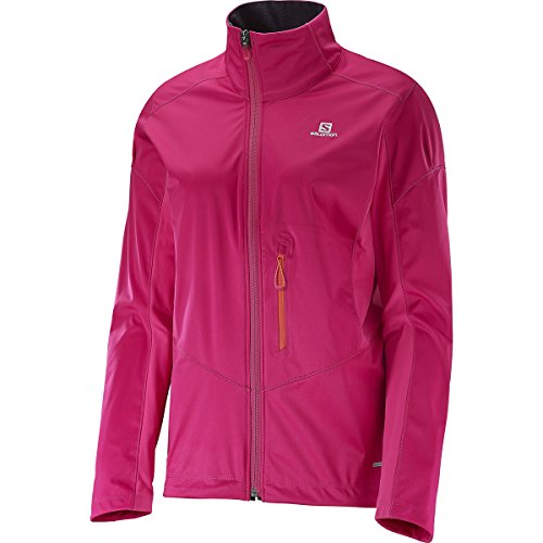 Salomon Lightning Softshell-Jacke JKT W - Jacke für Damen, Farbe Rosa, Größe L
