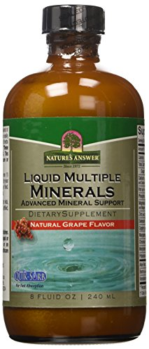 Natures Answer Multiple Minerals Liquid 240ml