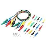 P1050B Cavi per test multimetro digitale elettronico con clip a coccodrillo Suggerimenti p...