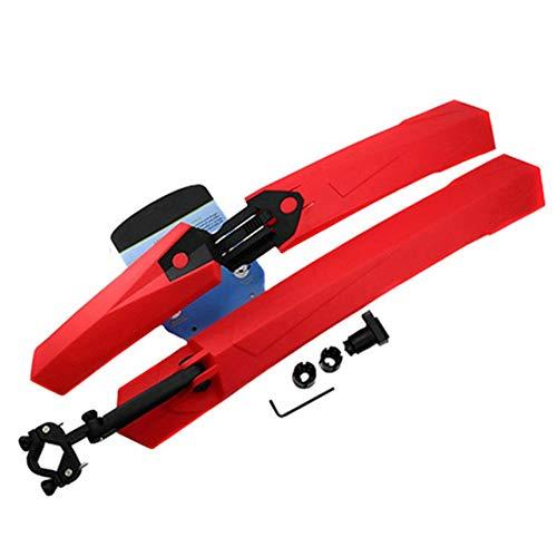 Bicycle fender Schnellkotflügel für Mountainbikes, 26-Zoll-27.5-Zoll-Universalfahrradkotflügel verstellbare Front- und Heckflügel, geeignet für vordere und hintere Mountainbikes-LXZXZ