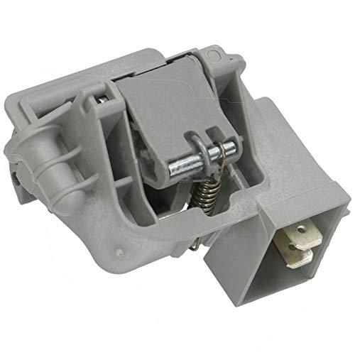 SPARES2GO Cerradura para puerta de lavavajillas compatible con Bush Interlock Latch