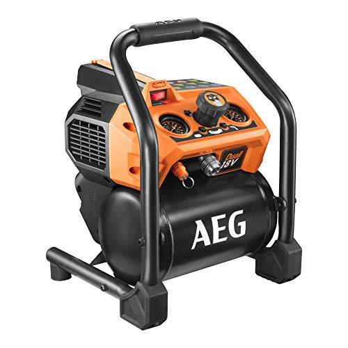 Compresor AEG 18V - Sin batería y sin cargador BK18-38BL-0