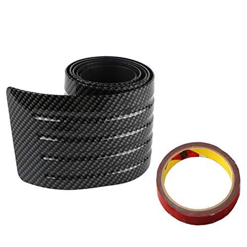 iSpchen Tiras de Protección de Parachoques de Coche, Pegatina Universal de PVC Para Coche, Protector de Goma Resistente a Los Arañazos, Tiras de Parachoques de Labio delantero Trasero