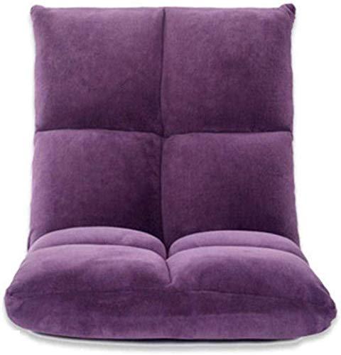 YAMMY Armchair Living Room Chair Cushions, Lazy Sofa Floor Chair Foldable Adjustable Home Office Backrest Comfortable Relaxin(chair)