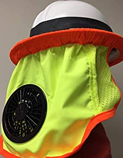 ZippKool High Visibility Helmet Fan Attachment (Full Brim) HVC-01U