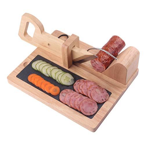 Sausage cutter CHIUSING Premium Sausage Salami Guillotine Slicer-...