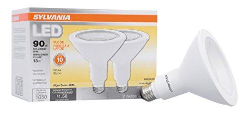 SYLVANIA General Lighting 79276 Sylvania Non-Dimmable Led Light Bulb, 13 W, 120 V, 1050 Lumens, 3000 K, CRI 82, 4-3/4 in Dia X 5.06 in L, Warm White