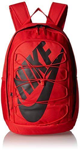 Nike Hayward 2.0 Backpack, Nike Backpack for Women and Men with Polyester Shell & Adjustable Straps, University Red/University Red