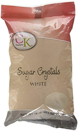 Image of WHITE SUGAR CRYSTALS