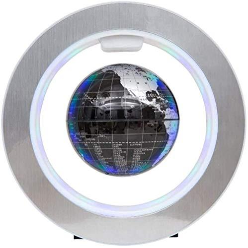 XUMINGLSJ Globus Beleuchtet, Schwebender Magnetische Levitation Kugeln interaktiver globus, Business-Geschenke, Geburtstag Geschenke, Wohnkultur Büro Dekoration -schwarz